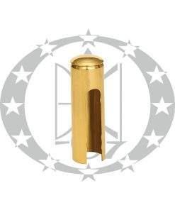 Накладка декоративна гладка Ф16 латунь
