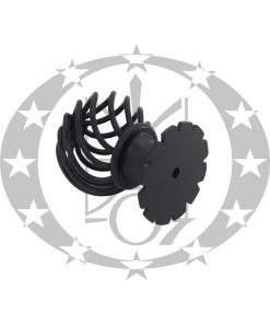 Ручка-галка Metal-Bud ROYAL брамова чорна