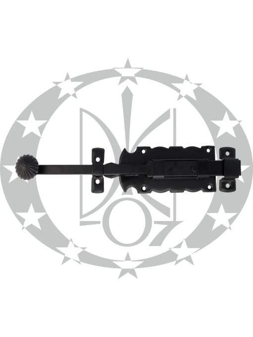 Засув AMIG mod.411 (6110) 250 мм чорний