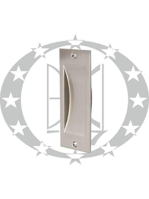 Ручка врізна до розсувних дверей Metal-Bud (UWPN) нікель сатинований
