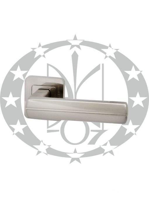 Ручка на розеті Metal–Bud VIVA нікель сатинований