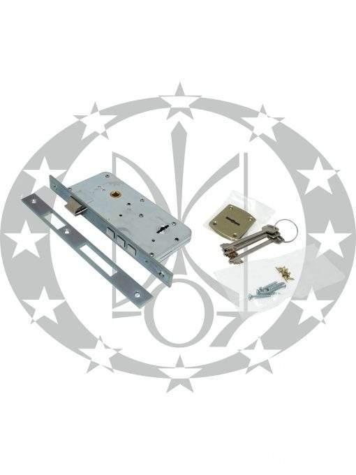 Замок для вхідних дверей SAB 510 90/50 E50 ключ цинк