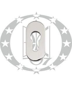 """Протизломна дверна накладка під серцевину """"FAM"""" (45.29.019)PZ хром"""