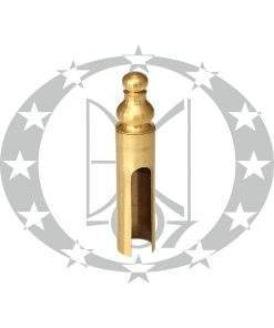 Накладка Ф16 декоративна латунь сатинована