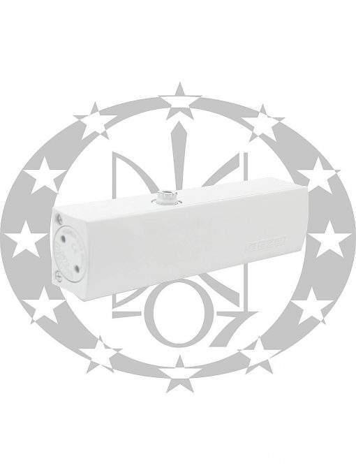 Амортизатор дверний з ковзною тягою GEZE TS1500 білий