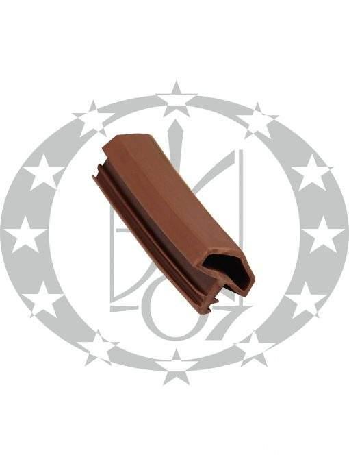 Ущільнювач дверний 0304-10 коричневий