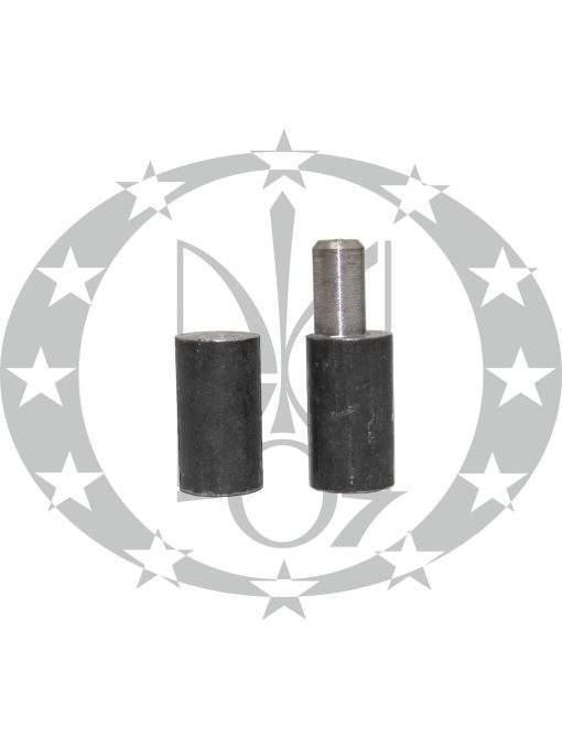 Завіс ЦеКо Ф26 точений зміщений чорний