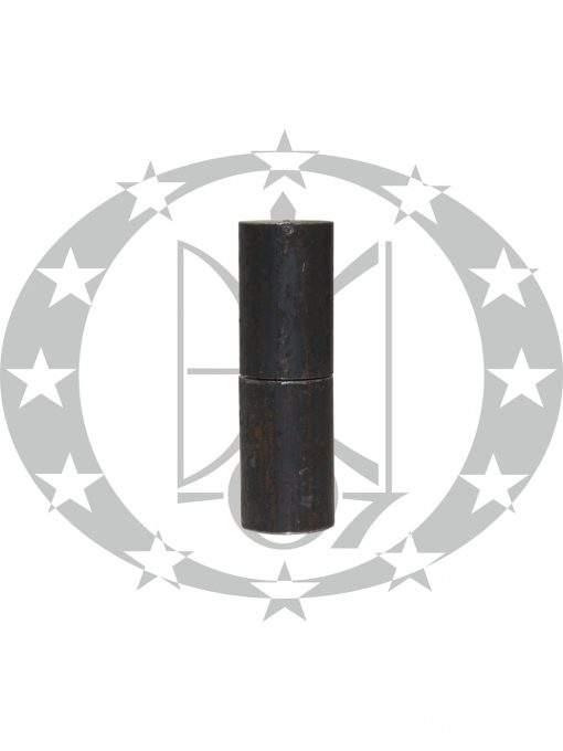 Завіс з кулькою ЦеКо Ф24 точений чорний