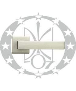 Ручка дверна QUATTRO 02-Z VIS хром сатин(264/14-Z/ZCS)