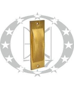 Ручка врізна до розсувних дверей Metal-Bud UWPM латунь