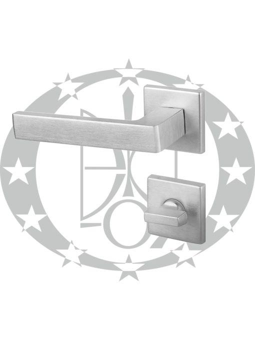 Ручка DND QUATTRO 02-Z WC хром сатинований