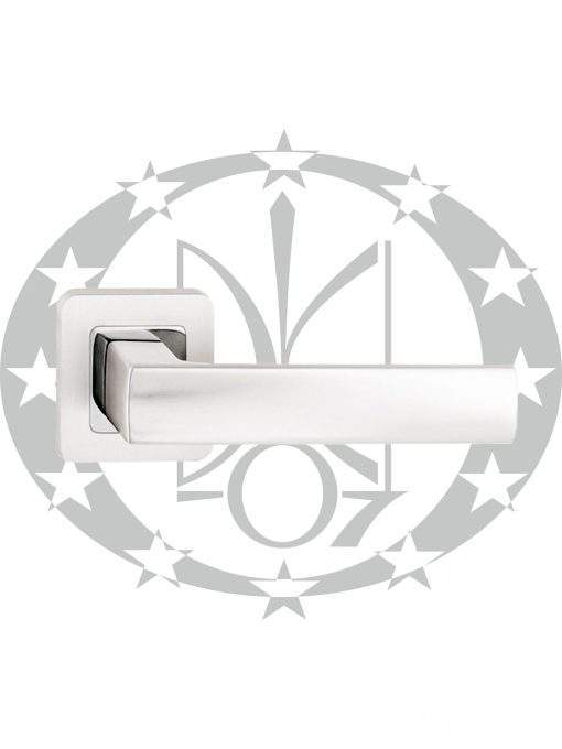 Ручка Metal-Bud IBIZA (ZIBZS) квадратна розета срібло сатин