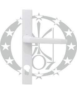 Ручка дверна Czestochowa K-90 ST-27 92 PZ фарбована біла