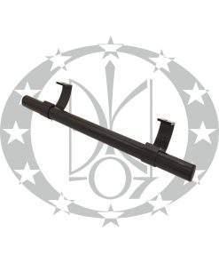 Антаба Октава-Пласт на металопластикові двері пряма коричнева (30/500mm)