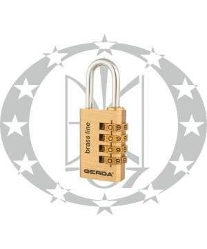 Навісний замок колодка кодова GERDA KMS3045 S-30