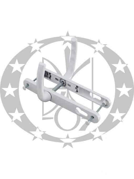 Ручка з пружиною Kaya-Pen САФІР вузька 25 мм 85 PZ біла (KP5151.31)