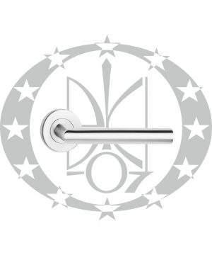 Ручка на розеті Metal-Bud NOVA нержавійка
