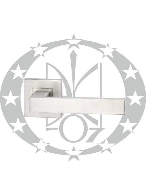 Ручка дверна Metal-Bud TOPAZ розета нержавійка
