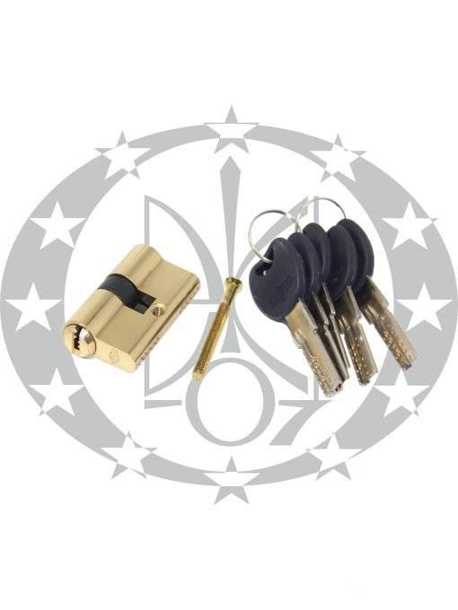 Серцевина IMPERIAL C горизонтальний ключ 55/55 латунь