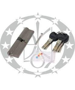 Серцевина IMPERIAL C горизонтальний ключ 55/55 нікель