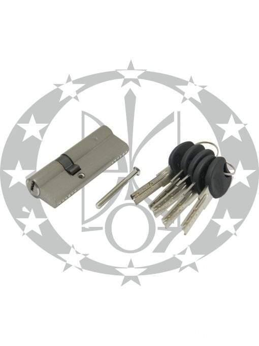 Серцевина IMPERIAL ZC горизонтальний ключ 45/45 нікель