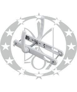 Ручка з пружиною САФІР вузька 25 мм 92 PZ біла (KP5152.31)