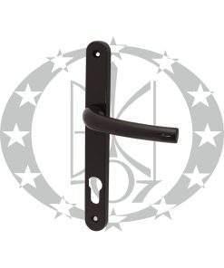 Ручка з пружиною САФІР 85PZ коричнева