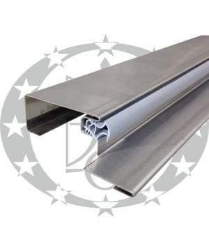 """Поріг металевий """"GERDA"""" XC4 90N gr.32 до SX, GSX"""