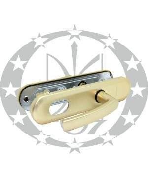 Ручка GERDA TD - 1000 90PZ анодоване золото