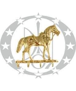 """Вішак великий """"Кінь"""" латунь"""