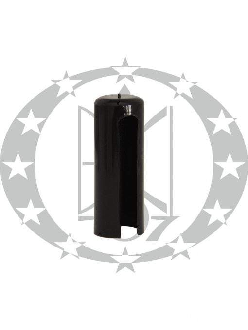 Накладка пластикова плоска Ф14 чорна