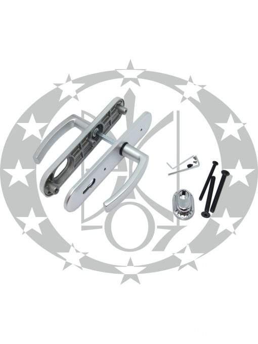 Ручка GERDA TD - 1000 ANCONA 90PZ анодоване срібло