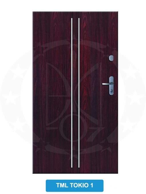 Двері вхідні металеві GERDA C PREMIUM TML Tokio 1