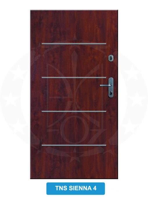 Двері вхідні металеві GERDA C PREMIUM TNS SIENNA 4