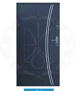 Двері вхідні металеві GERDA CPX3010D(S) RLA