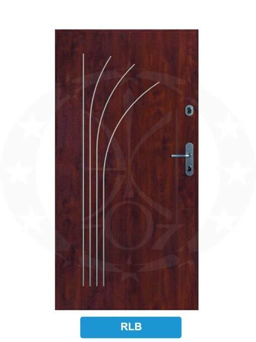 Двері вхідні металеві GERDA CPX3010D(S) RLB