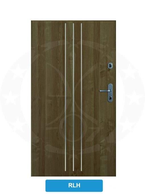 Двері вхідні металеві GERDA CPX3010D(S) RLH