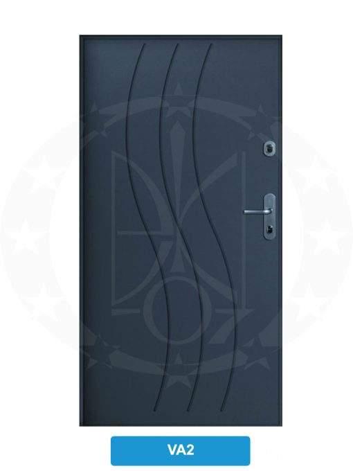 Двері вхідні металеві GERDA CPX3010D(S) VA2