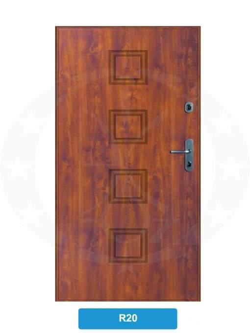 Двері вхідні металеві GERDA CPX3010D(S) R20