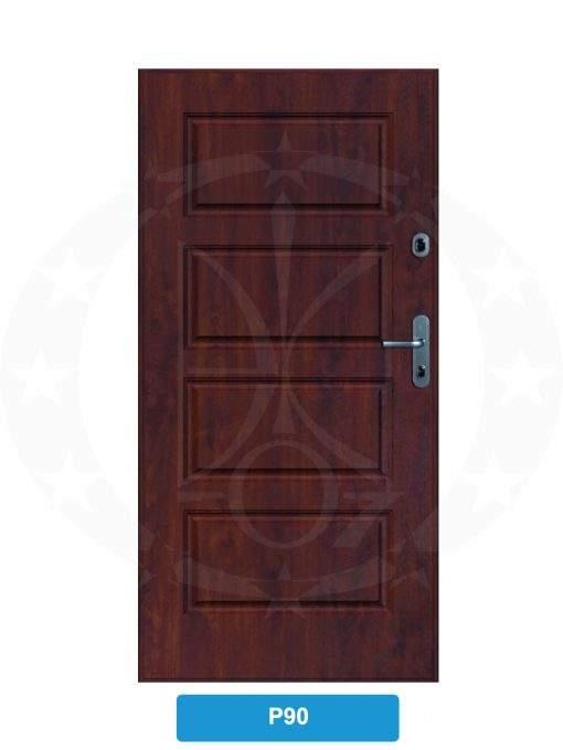 Двері вхідні металеві GERDA SX10 PREMIUM P90