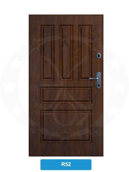 Двері вхідні металеві GERDA SX10 PREMIUM R52