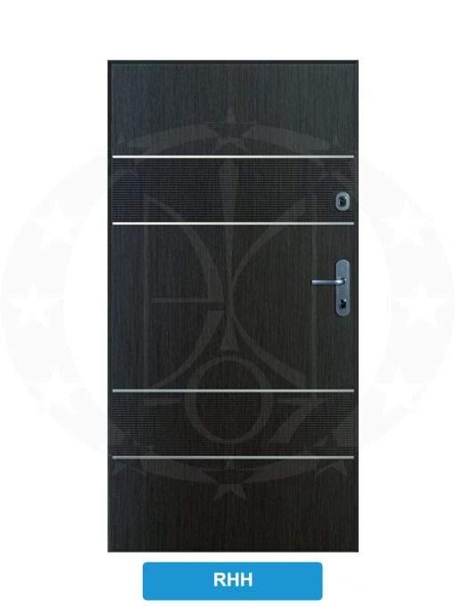 Двері вхідні металеві GERDA SX10 PREMIUM RHH