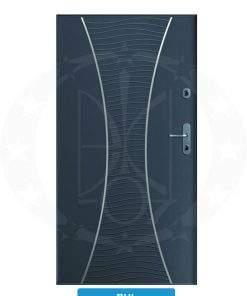 Двері вхідні металеві GERDA SX10 PREMIUM RHL