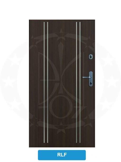 Двері вхідні металеві GERDA SX10 PREMIUM RLF