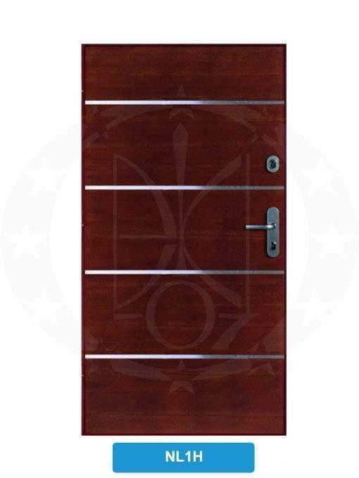 Двері вхідні металеві GERDA SX10 PREMIUM P85 NL1H