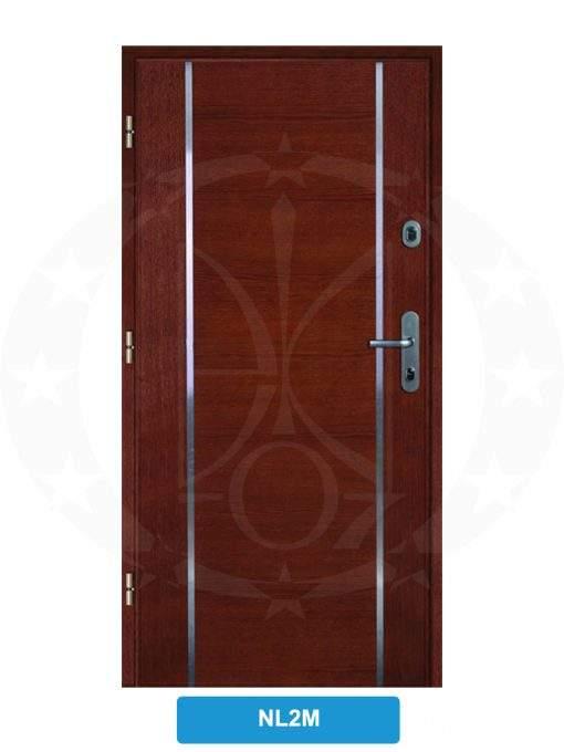 Двері вхідні металеві GERDA SX10 PREMIUM P85 NL2M