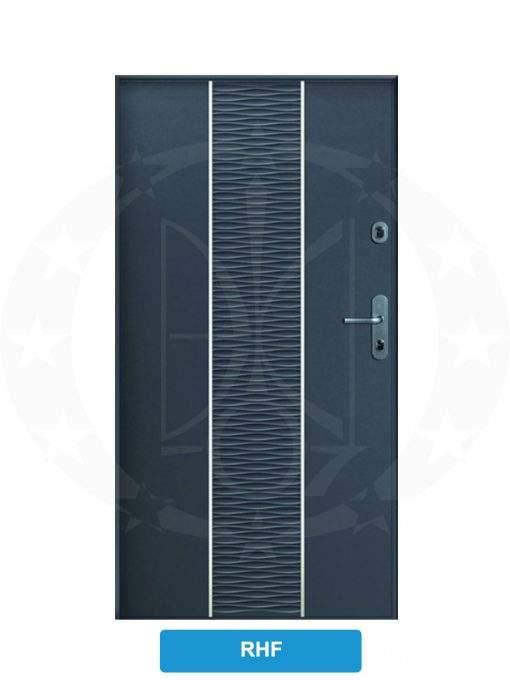 Двері вхідні металеві GERDA CX10 PREMIUM RHF