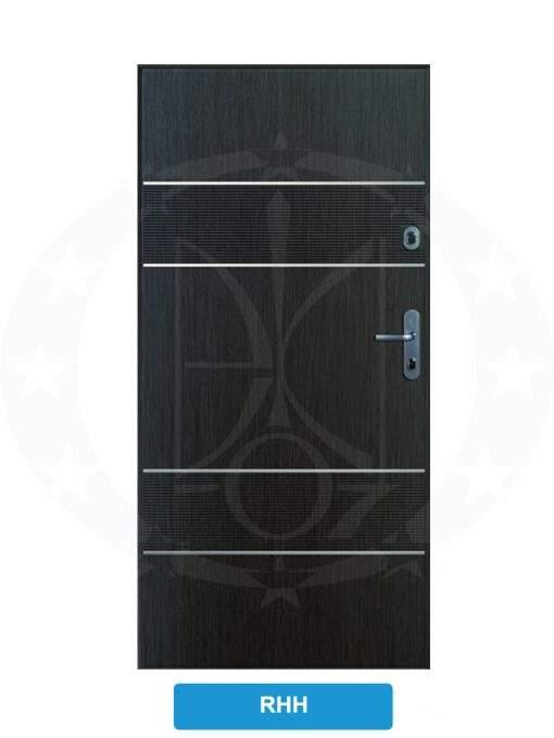 Двері вхідні металеві GERDA CX10 PREMIUM RHH