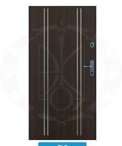 Двері вхідні металеві GERDA CX10 PREMIUM RLF