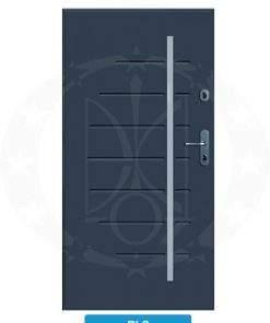 Двері вхідні металеві GERDA CX10 PREMIUM RLS